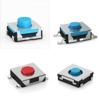 Buy cheap Kailh Mini Momentary Sealed SMT  6*6 Rubber Tact Switch IP67 Protection product