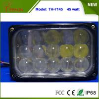 """Buy cheap 7"""" Rectangular 45W Offroad Vehicle LED Conversion Work Light Driving Headlamp product"""