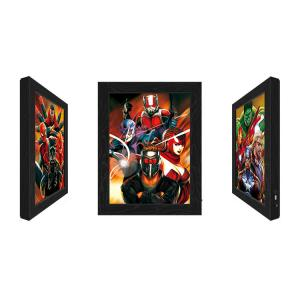 Buy cheap Outdoor LED 3D Lenticular Pictures With Marvel Movie Character product