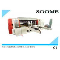 Buy cheap Automatic Lead Edge Feeder , Rotary Manual Paper Die Cutting Machine 2T Weight product