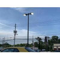 Buy cheap Commercial Parking Lot Street Lights Pole Lamp 300w AC 347v 480v 5000K 36797Lm from wholesalers