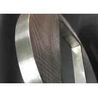 Buy cheap Wedge Wire Screen Panels , Wedge Wire Screen Filter Panels For Industrial Filtration product