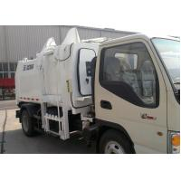Buy cheap Special Purpose Vehicles Side Loader Garbage Truck 7300kg with 5000L Carriage Volume product