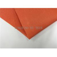 Buy cheap 180 - 200℃ PVC Coated Fiberglass Fabric Flame Resistant Heat Insulation product