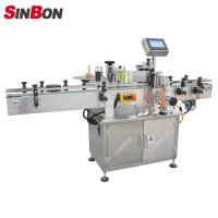 Buy cheap SINBON Round Bottle Star Wheel Labeling Machine fixed point labeling machine product