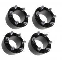 "3"" BLACK Wheel Spacers 6x139.7 Fits Chevy Silverado 1500 Tahoe Suburban, 75mm wheel spacers"