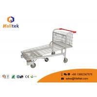 Buy cheap Heavy Duty Industrial Material Handling Trolley Transport Cargo Trolley With 5 Wheels product