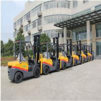 Buy cheap Customized Color Diesel Engine Forklift 3.5 Ton With 3000mm Lift Height product