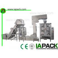 Buy cheap Bean Sprouts Polythene Bag Packing Machine Auto Feeding Device product