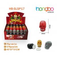 Quality small skull funny slime/promotion gifts for sale