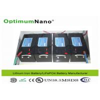 Buy cheap Energy Storage Electric Golf Cart Batteries , 48V 200Ah Electric Golf Trolley Lithium Battery product