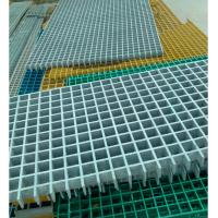 Buy cheap Industrial GRP Gratings size1220x3660mm thickness 25-40mm product