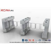 Buy cheap Automatic Pedestrian Swing Gate RFID Card Reader Infrared Sensor Security Turnstile product
