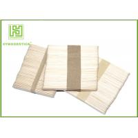 Buy cheap Promote Ice Cream Wooden Sticks , Eco Odorless Ice Cream Tasting Spoons product
