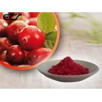 Buy cheap Beauty Effect Organic Food Ingredients Red Fine Oxycoccos Cranberry Extract Powder product