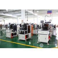 Buy cheap Automatic Single Phase Motor Stator Lacing Machine CNC Controller White Color product