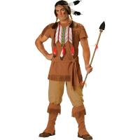 Buy cheap 2016 costumes wholesale high quality fancy dress carnival sexy costumes for halloween party Indian Brave product