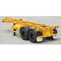 Quality 20 GP Container Excavator Container Chassis For Truck Excavator Parts Grade 50 for sale