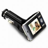 Buy cheap Car MP4 Player with 1.5-inch TFT Screen, FM Transmitter and Steering Remote Control product