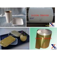 Buy cheap Coated & Lubricated Aluminum Foil For Airline Food Container/Tray/Casserole product