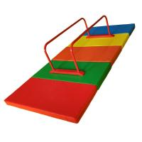 Buy cheap Outdoor Mini Gymnastics Equipment , Metal Parallel Bars Fitness With Mat product
