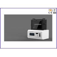 Buy cheap Cable Horizontal / Vertical Burn Test Apparatus , UL 1581 Flame Test Chamber product