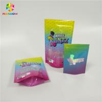 China Custom Printed Resealable Ziplock Doypack Laminated Material Smell Proof Runtz Bag for CBD Candy Packaging on sale