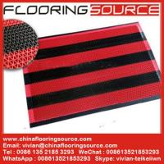 Buy cheap Vinyl Z web floor mat wet area non-slip drain water and scrape dirt door mat product
