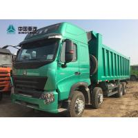 Buy cheap Euro 4 420HP High Roof Cab HOWO A7 Dump Truck With Double Bunker For Phillipine product