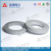 Buy cheap Precision tungsten carbide roller Ring grade ML60 for semifinishing rollers product