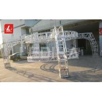 Buy cheap Square Silver  Stage Lighting Truss Aluminum  For Outdoor Events 18m Span from Wholesalers