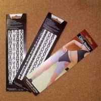 China Glitter Bracelet and Anklet Tattoo Transfers, Easy to Apply and Remove for sale