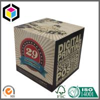 Buy cheap Both Ends Open Corrugated Cardboard Packaging Box; Color Packaging Box product
