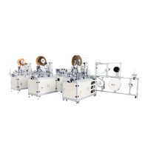 Buy cheap 13KW 90pcs/Min earloop Style Mask Making Machine product