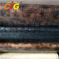 Buy cheap Fashion Design PVC Artificial Leather Fabric For Handbag , PVC Synthetic Leather from wholesalers