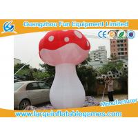 3.5mH Ligthting Inflatable Mushroom Props Model Water Proof Material