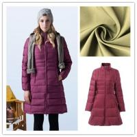 China Lightweight Nylon Stretch Fabric Excellent Elasticity For Down - Jacket on sale