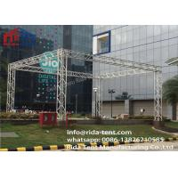 Buy cheap 400 X 600mm 6082 6061 Aluminum Lighting Truss System , Line Array Truss product
