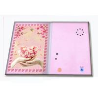 Buy cheap Pre - recorded Musical Greetings Cards Recordable Greeting Card with customized music product