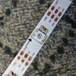 Buy cheap madrix 5v led tape 60 pixels APA104 addressable led strip product
