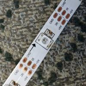 madrix 5v led tape 60 pixels APA104 addressable led strip