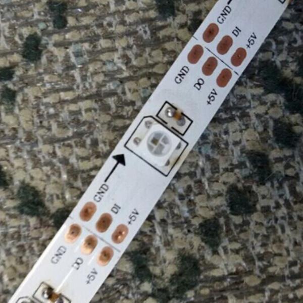 Quality madrix 5v led tape 60 pixels APA104 addressable led strip for sale