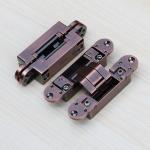 Buy cheap 3d adjustable hinges concealed for interior wood door 180 degree hidden door hinges fold door hinge product