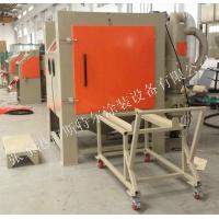 Buy cheap Cabinet Abrasive Blasting Machine Heat Treated Parts Welded Parts Castings Support product