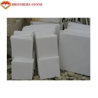 Buy cheap Free Sample Pure White Marble Slab Polished , Crystal White Marble Tiles product