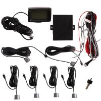 Car Electronics Products 5w Digital Tube Colorful Lcd With 6 Sensors Parking Sensor