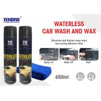 Buy cheap Waterless Wash & Wax Vehicle Exterior Surfaces Use With Streak Free Shine product