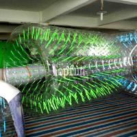 Buy cheap Commercial Grade Clear Inflatable Water Walking Roller For Summer Water Game Parks product