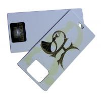 Buy cheap Lady Dress Printable Hang Tag 800gsm Artpaper With Offset printing product