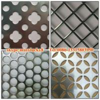 Buy cheap Stainless steel perforated metal /SS316 Perforated metal/4x8 stainless steel perforated sh product